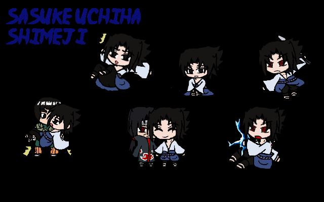 Sasuke Uchiha Shimeji by Uchiha00006