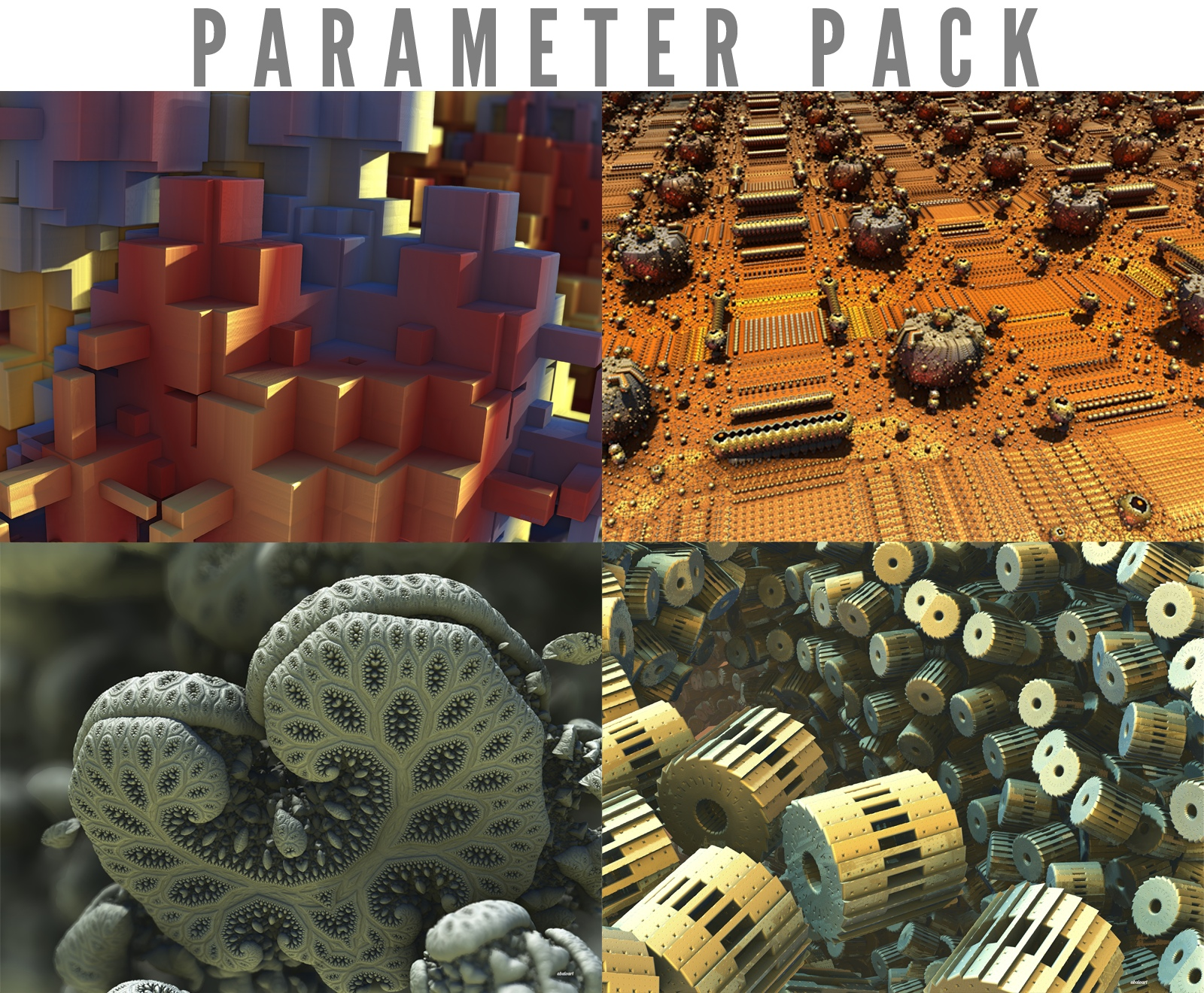 Parameter Pack For Mandelbulb 3d by batjorge