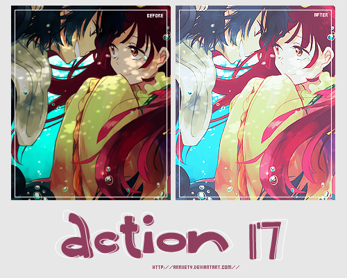 Action 17 by Arriiety