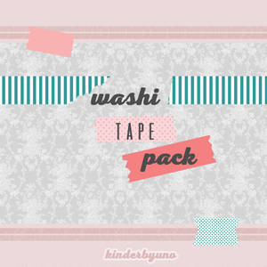Ressource Pack #1 Washi tape edition