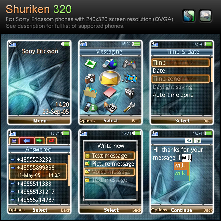 Shuriken mileR 320