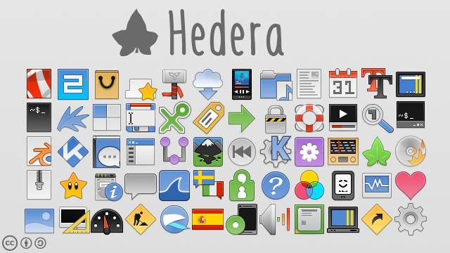 Hedera icons by sixsixfive