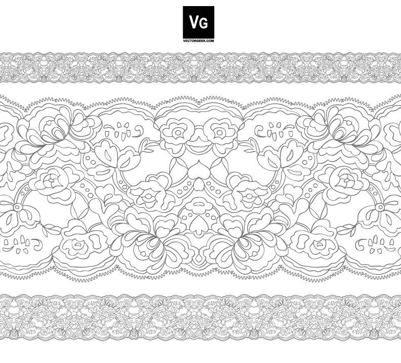 lace drawing pattern - photo #32