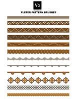 Pleter Pattern Brushes by vectorgeek