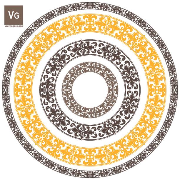 Fleur Pattern Brush by vectorgeek on DeviantArt