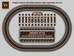 Railroad Track Pattern Brush