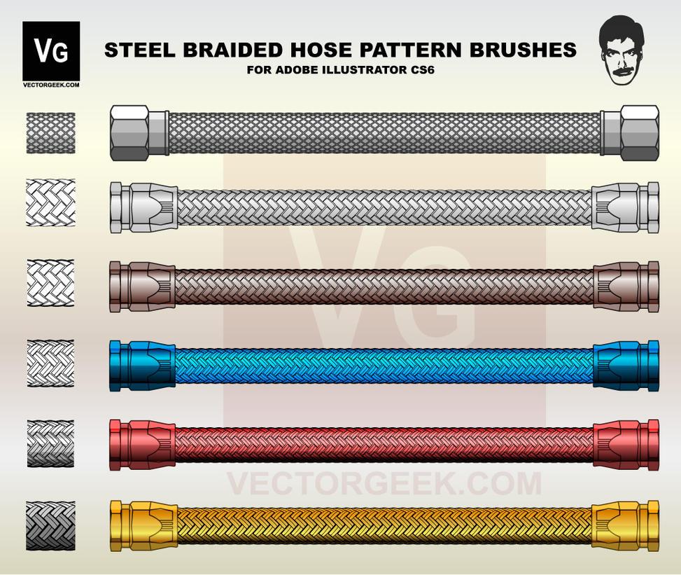 VG-Steel-Braided-Brush by vectorgeek