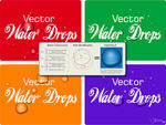Vector Water Drops Tutorial by vectorgeek