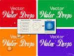 Vector Water Drops Tutorial by vectorgeek