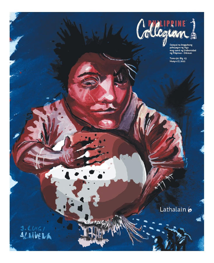 Philippine Collegian Issue 3 by kule1213