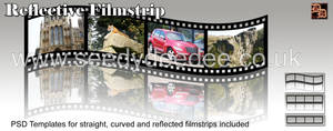 Filmstrip PSD Template