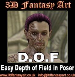 Easy Depth of Field in Poser