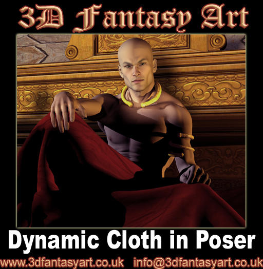Dynamic Cloth in Poser by 3D-Fantasy-Art