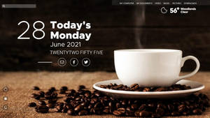 Coffee at 11 : windows 11 day mode
