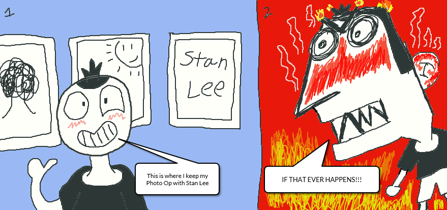 (Stan Lee Photo Op) IF I HAD ONE! by Javi-Here