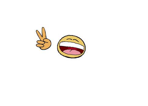 cartoon happy