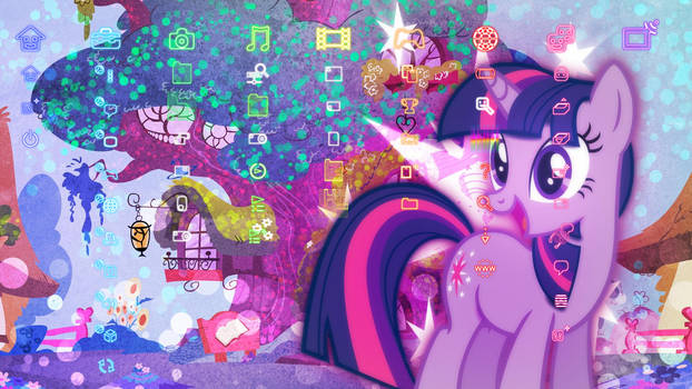 My Little Pony: Friendship is Magic PS3 Theme