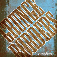 Grunge Borders by Aramisdream