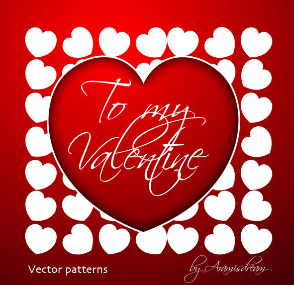 My Pattern Valentine by Aramisdream