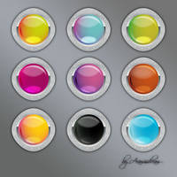 Buttons by Aramisdream