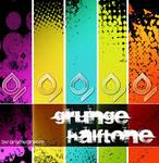 Halftone grunge