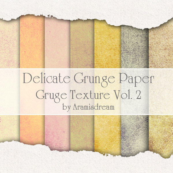 Delicate Grunge Paper - vol.2 by Aramisdream