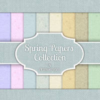 Spring papers collection 2012 by Aramisdream