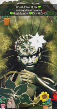 WIP green goddess