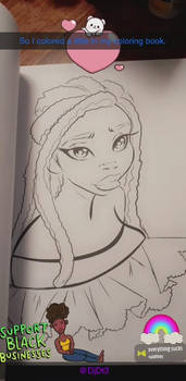 1st proof of my coloring book