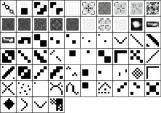 pixel patterns 740_01 by 740kb