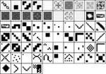 pixel patterns 740_01