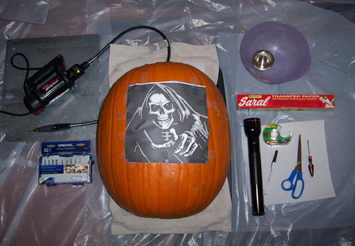 Pumpkin carving tutorial by kamose on deviantart for Pumpkin sculpting tutorial