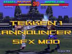 Tekken 1 Announcer SFX Mod