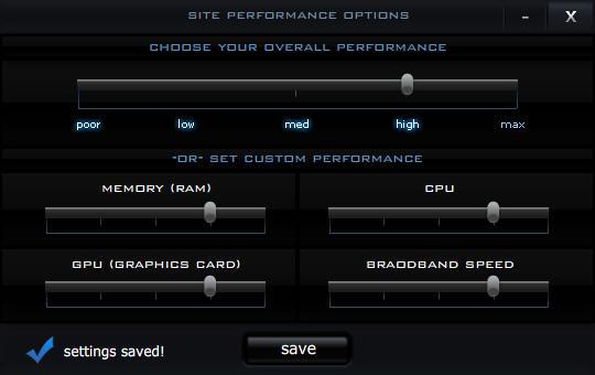 Flash Performance Module v1