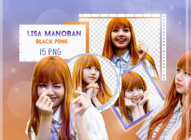 Lisa Blackpink Png Pack