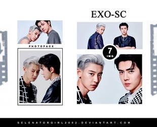 EXO-SC (CHANYEOL SEHUN) PHOTOPACK || 165 by SelenatorGirl2002