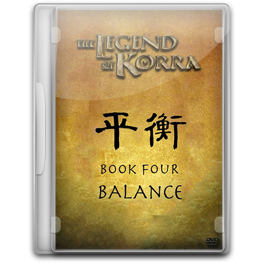Legend of Korra Book Four Balance by sad6549775
