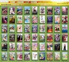 Spring 2015 Anime - Television DVD Style Icons by sad6549775