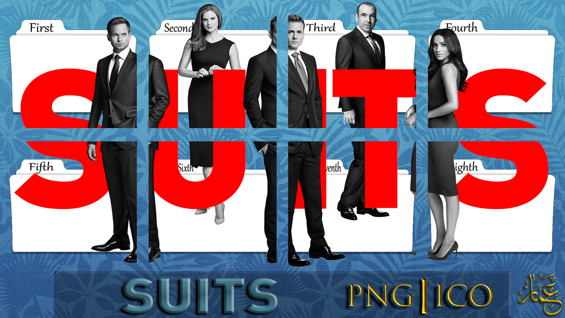 suits tv serie s1 s8 folder icons pack by ammarkolen on deviantart suits tv serie s1 s8 folder icons pack