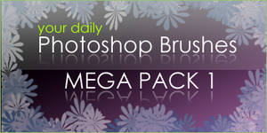 Photoshop Brushes MEGA PACK 1 by eds-danny