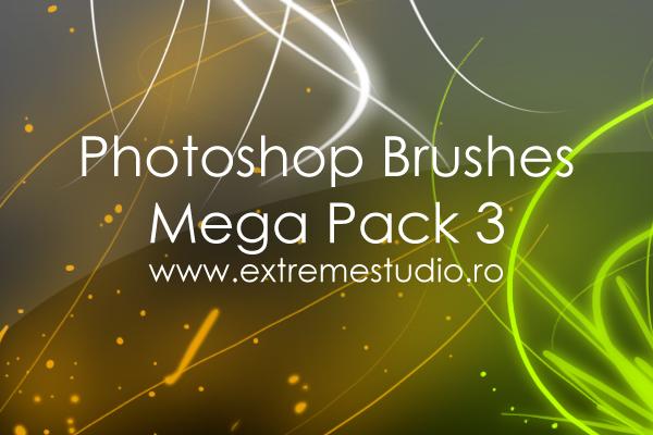 Photoshop Brushes Mega Pack 3