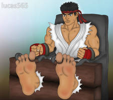 Ryu in the Tickle Chair [ANIMATED] by lucas565