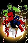 Young Avengers #1 by OwenOak95