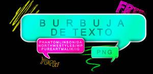 [resource] Burbuja De Texto PNG (formato PSD). by phantomlinson