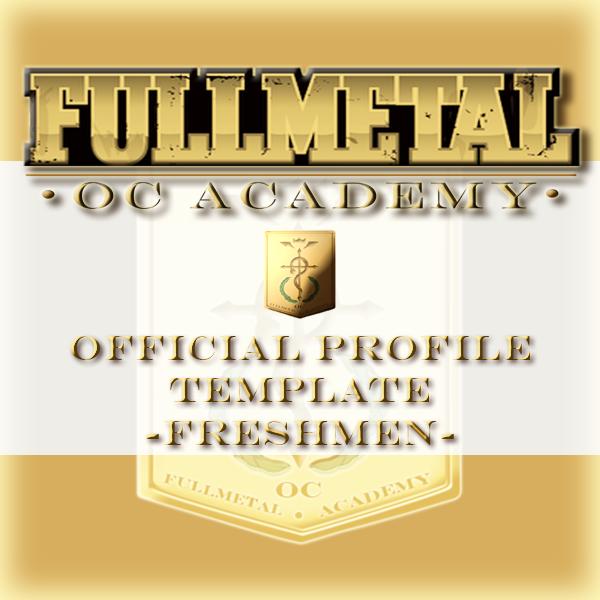 FMA OC Profile Template By NoVaNoah On DeviantArt