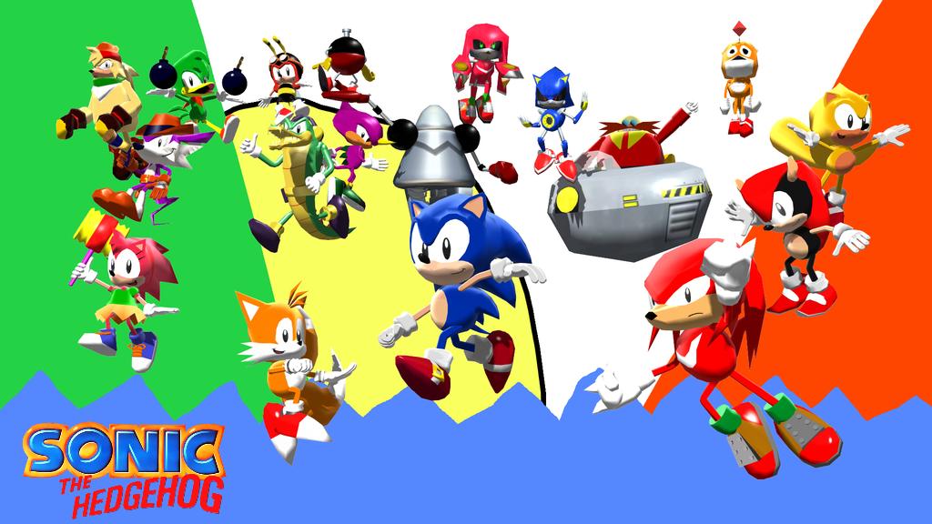 Classic Sonic Wallpaper 2 By Alexandergantt On Deviantart