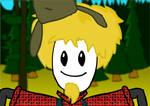 Lumberjack Curley Sam