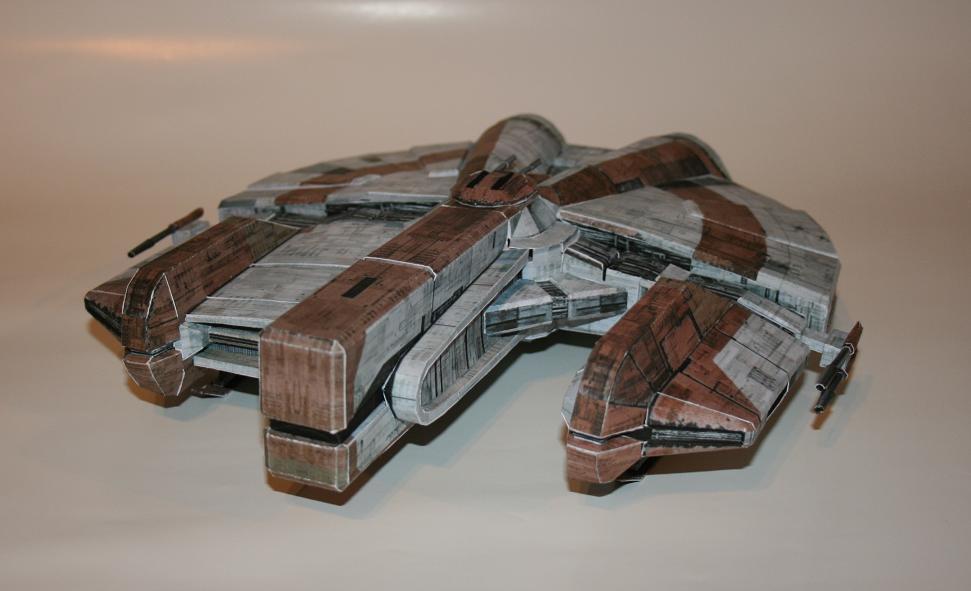Ebon hawk model template