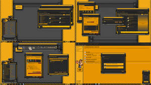HEAVY EQUIPMENT theme for the windows 7