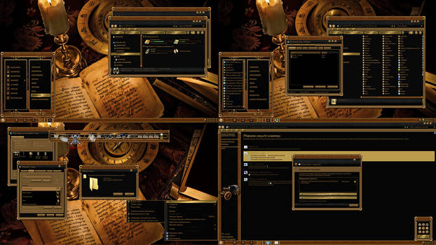 STEAMPUNK theme for windows 7